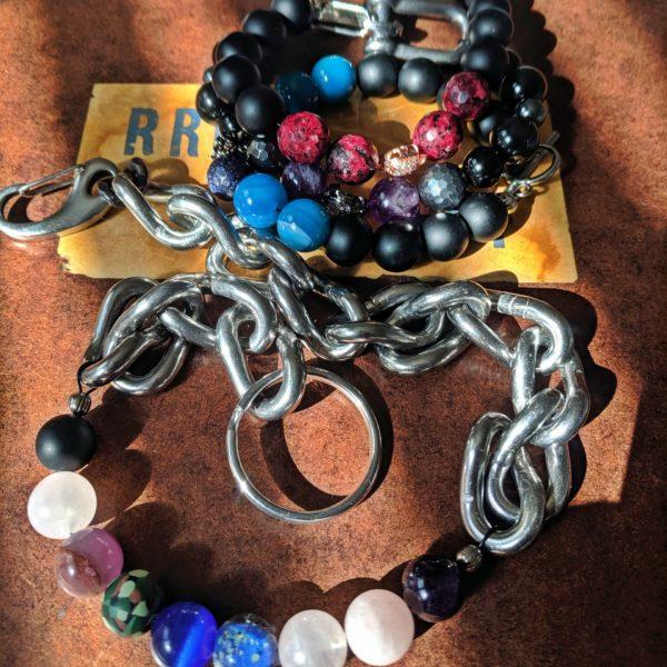 jumble of beads